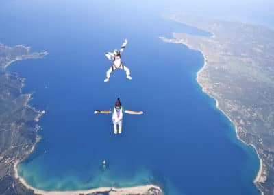 SKYDIVE FREEFLY CORSICA BAIE DE PROPRIANO